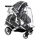 Raincover For Hauck Duett Tandem iN LiNe (Large) All In One Version (Baby Product)