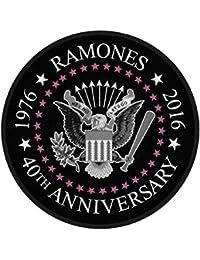 RAMONES Aufn/äher RAMONES /´76 Patch gewebt 10 x 10 cm