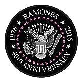 RAMONES - 40th Anniversary - Patch / Aufnäher