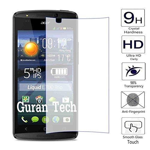 Guran® Pellicola Protettiva in Vetro Temperato per Acer Liquid E700 Trio Smartphone Ultra Sottile Screen Protector Film