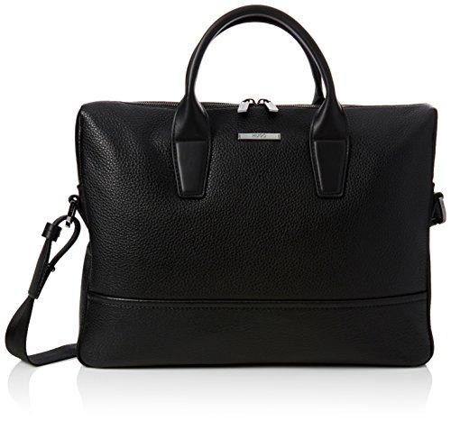 Preisvergleich Produktbild HUGO Herren Element_s Doc 10191374 01 Business Tasche, Schwarz (Black), 6.5 x 28 x 39 cm