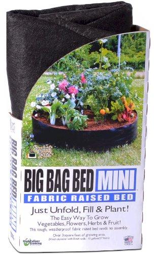SMART Pots Big Bag Tissu Lit surélevé Lit de plantation Mini noir