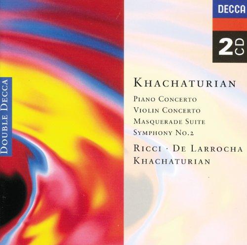 Khachaturian: Piano Concerto/Violin Concerto, etc. (2 CDs)