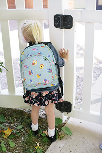 51fciKv T9L - Wildkin Toddler Backpack-Action Vehicles, Polyester, Multi-Colour, Pack 'n Snack
