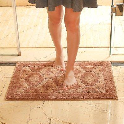 PEIWENIN-Plain Cuarto de baño Impermeable Antideslizante pie Almohadilla Dormitorio Puerta Paddle Sala...