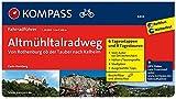 Altmühltal-Radweg von Rothenburg ob der Tauber nach Kelheim: Fahrradführer mit Routenkarten im optimalen Maßstab. (KOMPASS-Fahrradführer, Band 6404)