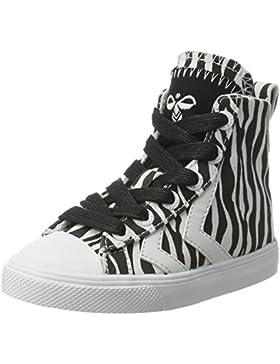 Hummel Unisex-Kinder Strada Zebra Jr High-Top