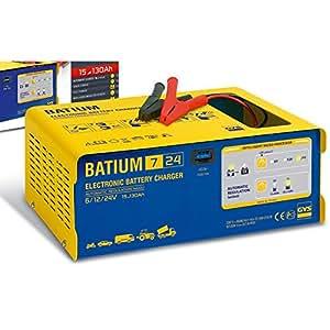 gys batium chargeur de batterie automatique 7 24 6 12 24v microprocesseur high tech. Black Bedroom Furniture Sets. Home Design Ideas