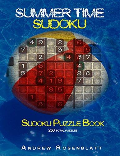 Sudoku: Summertime Sudoku: Sudoku Puzzle Book of 250 Brain Teasing Puzzles (English Edition)