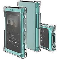 inorlo Funda Carcasa TPU Case para Sony Walkman NW-A35 NW-A45 Reproductor de MP3 + Protector de Pantalla (Claro)