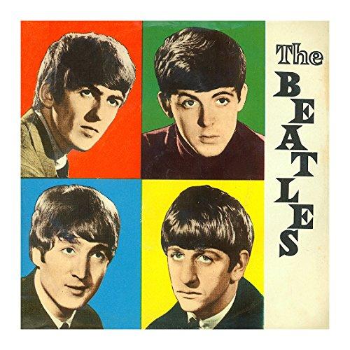 Braune Umschläge Quadratische (The Beatles Early Years quadratisch Grußkarte)