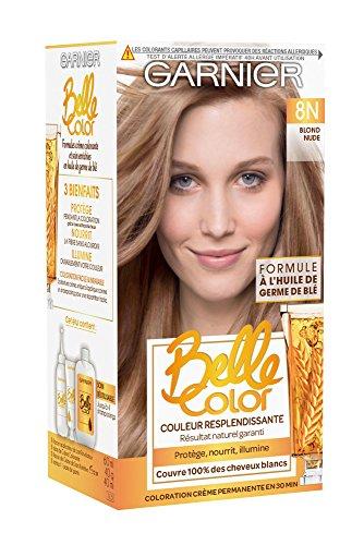 Garnier - Belle Color - Coloration permanente Blond - 7.33 Blond Miel Ambré