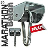 www.die-schaukel.de Rollengelenk BETON m. Montageset (MAR.1), sicherer Schaukelhaken, Schaukelgelenk mit Kugellager in Einem
