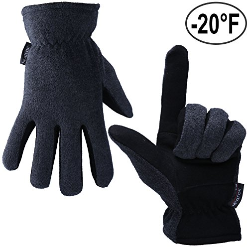 thermal-gloves-ozero-20f-cold-proof-winter-glove-genuine-deerskin-suede-leather-palm-and-polar-fleec