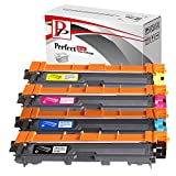 PerfectPrint Compatible Toner Cartridge Replacement for Brother DCP-9020CDW HL-3140CW 3150CDW 3170CDW MFC-9140CDN 9330CDW 9340CDW TN241 / TN-241 TN245 / TN-245 (Black/Cyan/Magenta/Yellow, 4-pack)