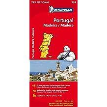 Portugal Madeira (Michelin Nationalkarte)