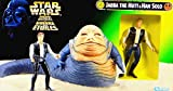 Toy - Hasbro Jabba the Hutt & Han Solo - Star Wars Power of the Force Collection