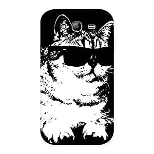 Impressive Thug Cat Back Case Cover for Galaxy Grand Neo Plus