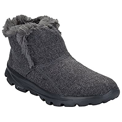 Walk Damen Stiefel Grau Go Skechers Arctic Move PiZTkOXu