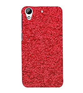 Bright Red Thread Pattern 3D Hard Polycarbonate Designer Back Case Cover for HTC Desire 626 :: HTC Desire 626 Dual SIM :: HTC Desire 626S :: HTC Desire 626 USA :: HTC Desire 626G+ :: HTC Desire 626G Plus