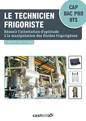 Le technicien frigoriste (2015) - pochette élève