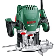 "Precise Engineered Bosch POF 1200AE 1/4"" Plunge Router 1200w 240v [Pack of 1] - w/3yr Rescu3® Warranty"