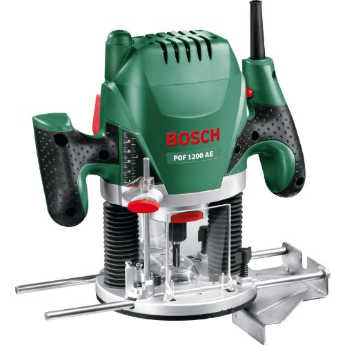 "Advanced Bosch POF 1200AE 1/4"" Plunge Router 1200w 240v [Pack of 1] --"