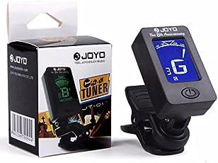 amiciKart® Digital LCD Display Automatic Clip-On Tuner for Chromatic Guitar Bass, Violin, Ukulele