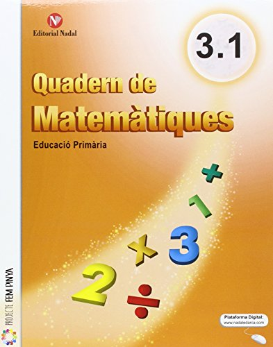Quadern matemàtiques 3r.primaria. Trimestral - 9788478877478