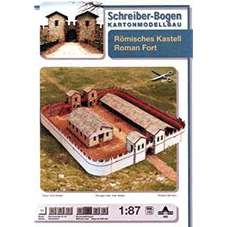 Aue-Verlag 51 x 44 x 9 cm Roman Fort Model Kit
