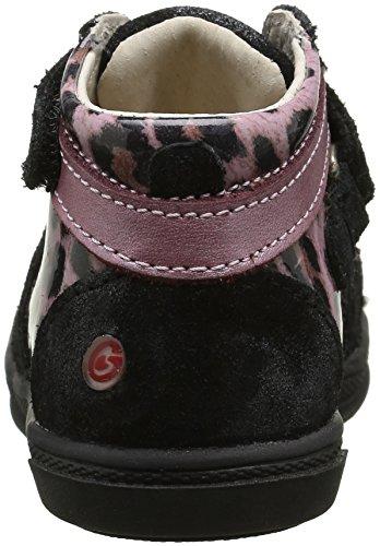 GBB - Nadege, Scarpe da ginnastica Bambina Multicolore (41 Crt Noir/Leop Vx Rose Dpf/Edit)
