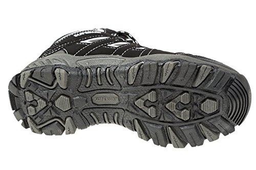 gibra, Chaussures basses pour Homme Noir/gris/blanc