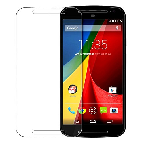 Chevron Anti-Shatter Tempered Glass Screen Protector For Moto G (2nd Gen)