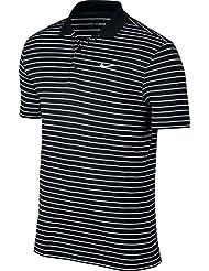 Nike Victory Herren-Poloshirt, Mini-Streifen, Brustlogo