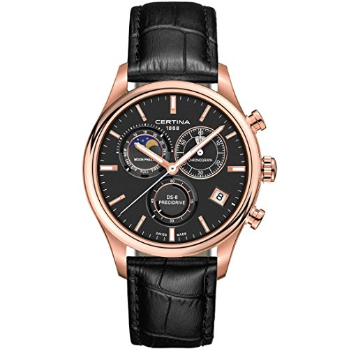 Certina DS-8 Reloj de hombre cuarzo 41mm correa de cuero C033.450.36.051.00