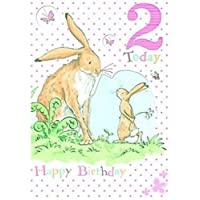 Gemma International Guess How Much I Love You 2nd Birthday Card (Old Model)