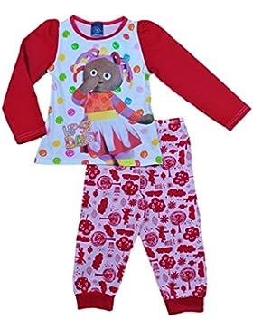 ThePyjamaFactory Mädchen Schlafanzug Rosa Pink