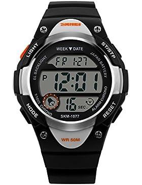 Mode Kinderuhren/Wasserdichte digitale Sportuhr/Jungen Uhren-C