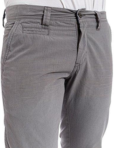 Timezone Curtistz Slim Chino Pants, Pantalon Homme gris (grey minimal check 2084)