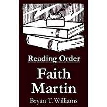 Faith Martin - Reading Order Book - Complete Series Companion Checklist (English Edition)