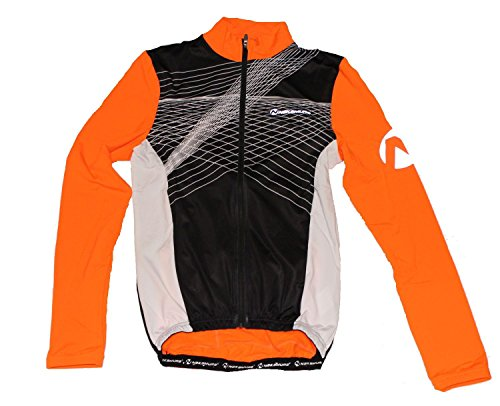 Trikot Anchorage LS 001 BLACK/ORANGE S