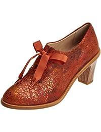 Neosens S534 Fantasy Floral Ginger/Cynthia, Zapatos de Tacón con Punta Cerrada Para Mujer