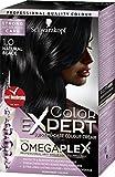 Best Natural Hair Colors - Schwarzkopf Color Expert Omegaplex Hair Dye, 1-0 Natural Review