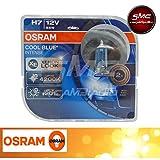 64210CBI-HCB OSRAM COOL BLUE INTENSE H7, ALOGENEN AUTO, 12V 55W 4200K XENON LOOK