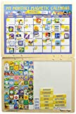 Melissa & Doug My Monthly Magnetic Calendar - english (140 pieces)