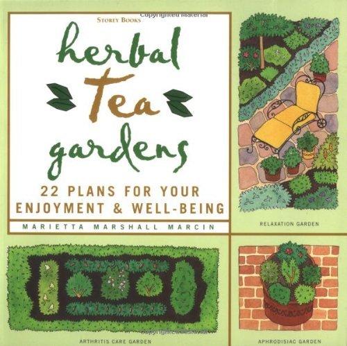 Herbal Tea Gardens by Marietta Marshall Marcin (1-Feb-1999) Paperback