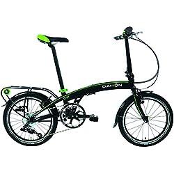 Dahon qix D8–Bicicleta Plegable para Adulto, Arena Negro, Talla 20