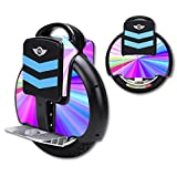 MightySkins Protective Vinyl Skin Decal for TG-F3 Self Balancing one wheel electric unicycle scooter wrap cover sticker Rainbow Zoom