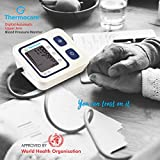 Thermon Digital Automatic Blood Pressure Monitor (Medical Equipment, blood pressure machine, blood pressure monitor) | Automatic Blood Pressure Monitor
