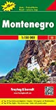 Montenegro, Autokarte 1:150.000, Top 10 Tips, freytag & berndt Auto + Freizeitkarten - Freytag-Berndt und Artaria KG